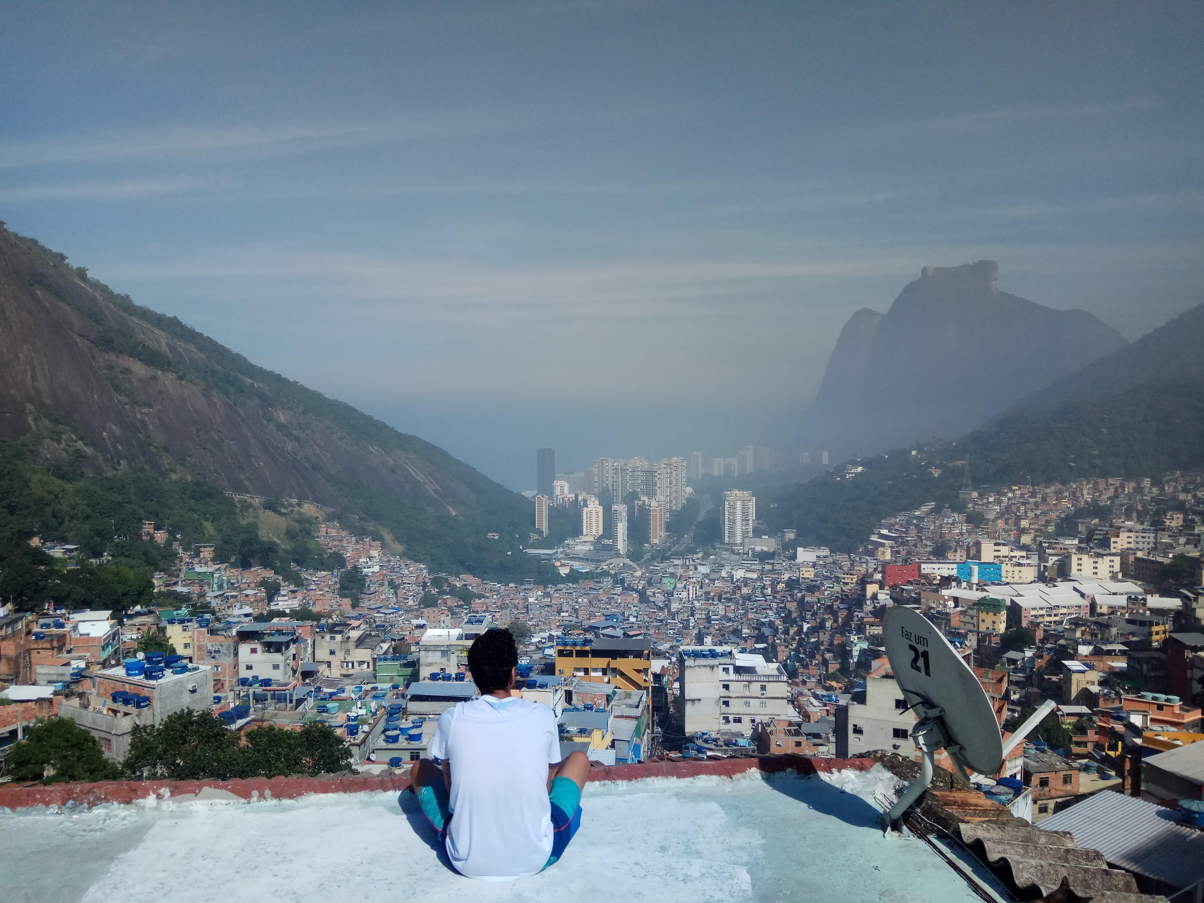 הנוף של ריו מהפאבלה