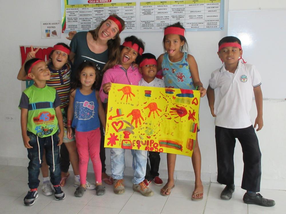 פעילות עם הילדים