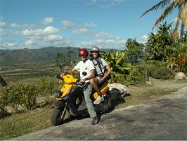 אופנוע, טרינידד, קובה