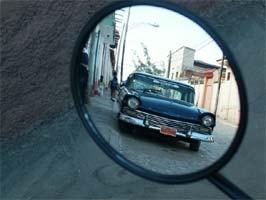 נוף מהמראה, טרינידד, קובה