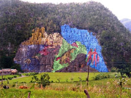 ציורי קיר , וינאלס, קובה