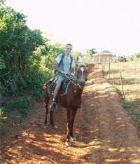 טיול סוסים , וינאלס, קובה