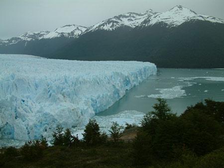 פריטו מורנו הקרחון המתנפץ, דרום ארגנטינה